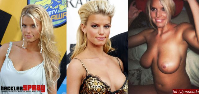 Nude photos of Jessica Simpson