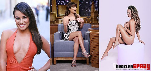 Lea Michele nude photos leaked