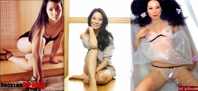 Lucy Liu naked movie pics
