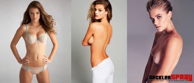 nina agdal nude modeling photos