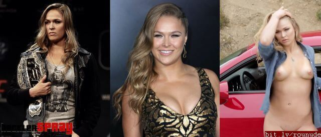 Ronda Rousey nude fakes