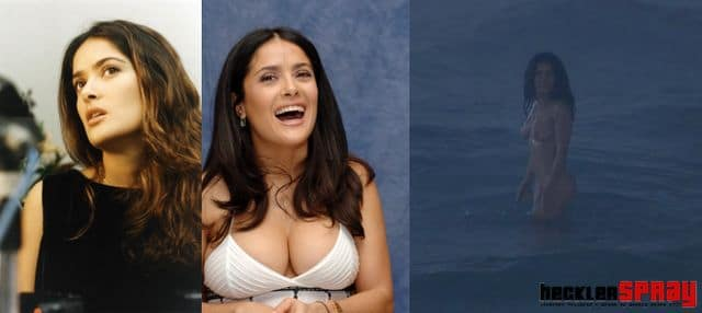 Salma Hayek nude photos leaked