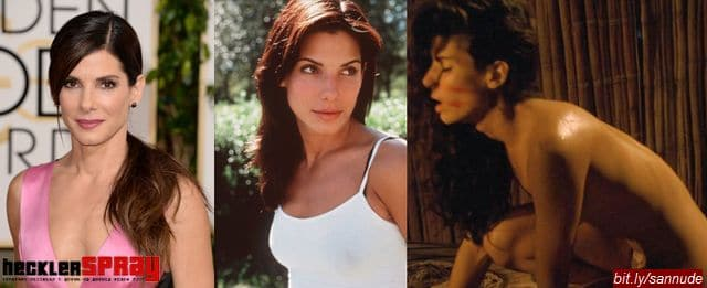 Nude photos of actress Sandra Bullock