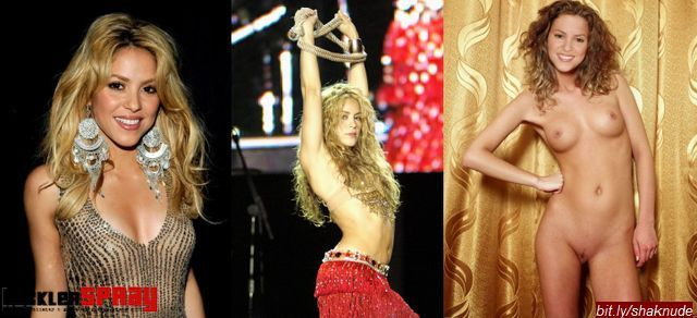 Nude photos of actress Shakira