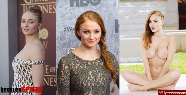 Nude photos of actress Sophie Turner