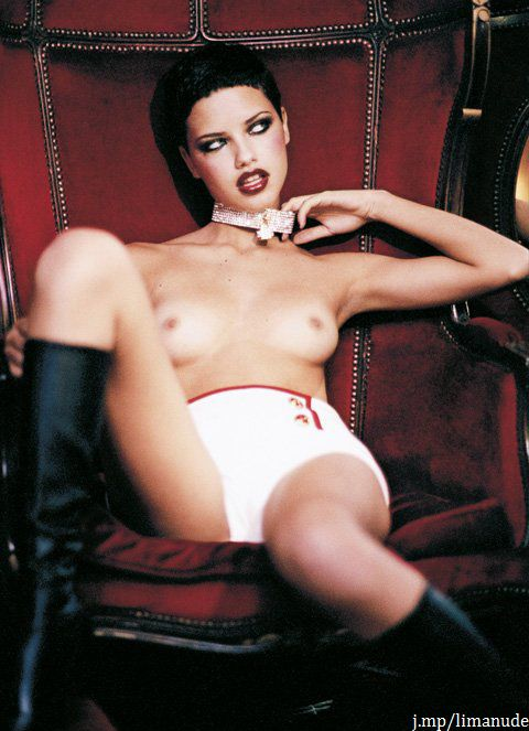 nude photos of adriana lima