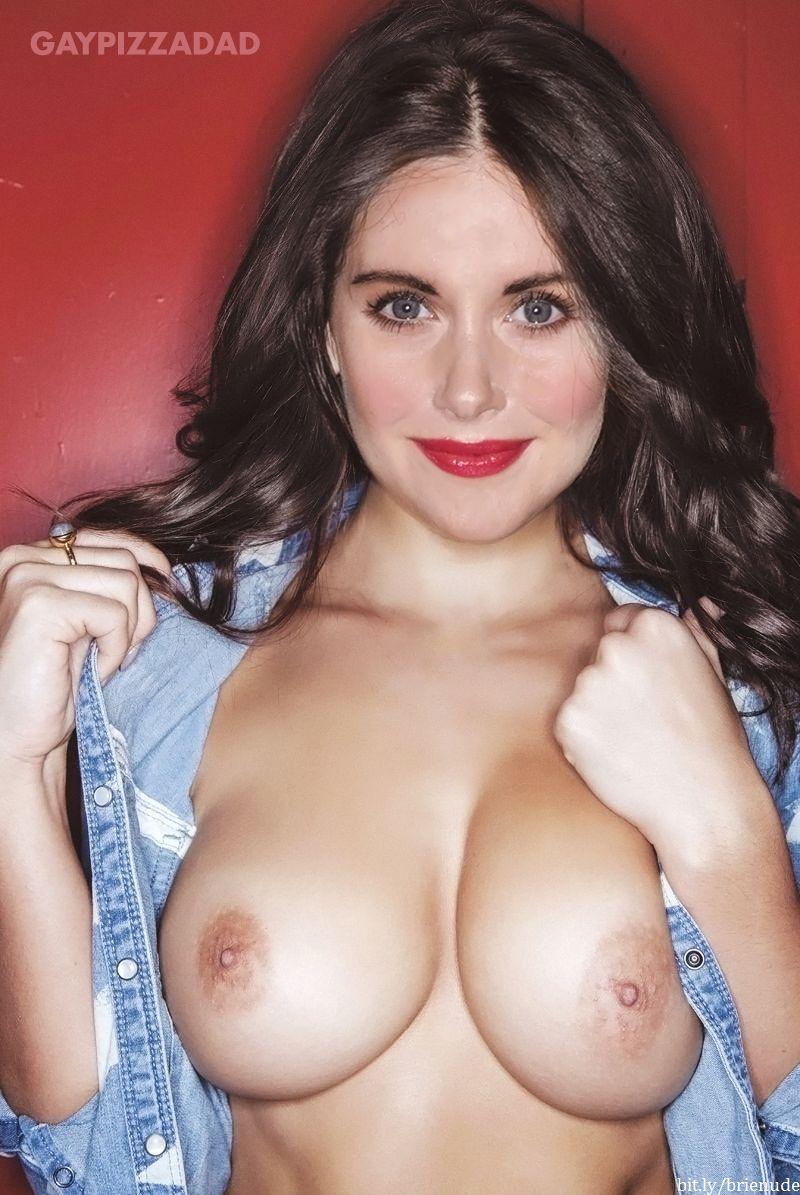 Alison brie tits