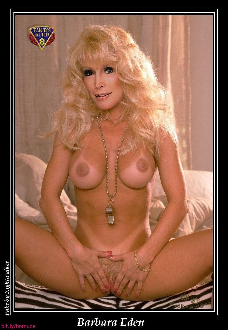 Can look Barbara eden nude pussy are mistaken