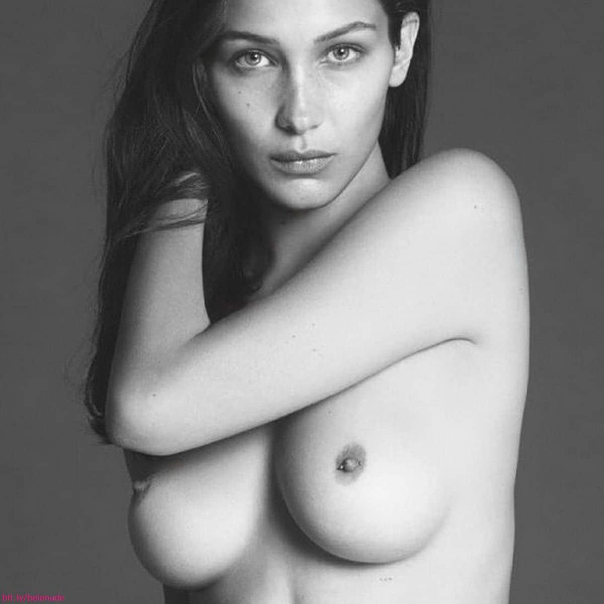 Bella hadid topless nude pic gigi hadid - 2019 year