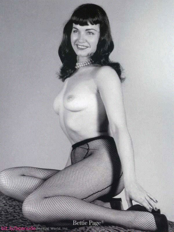 Bettie Page Nude Video 82