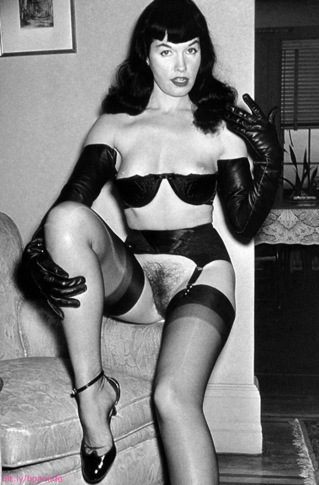 Betty Page Nude Video 100
