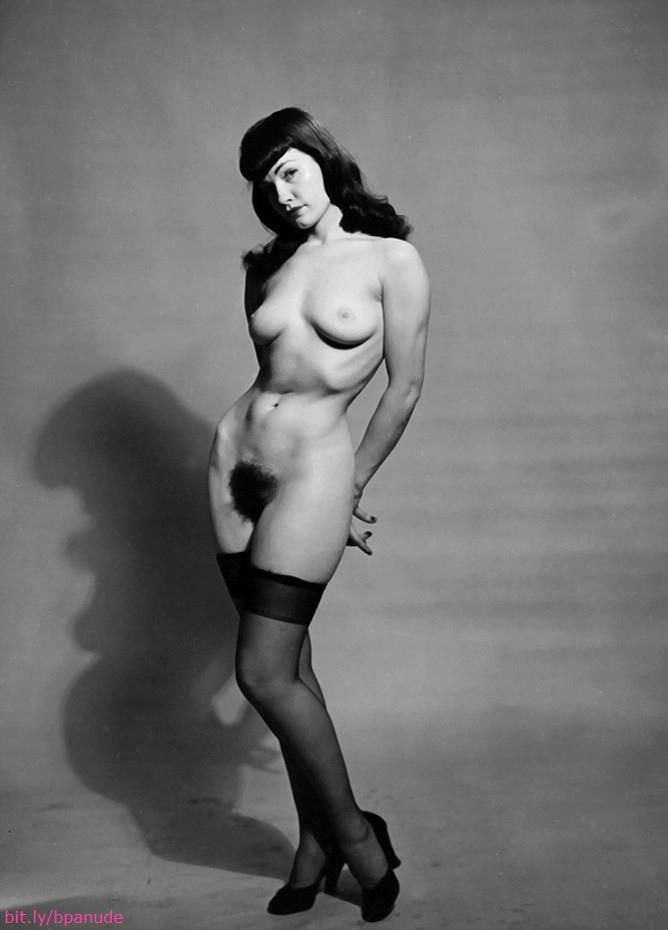 bettie page nude photo