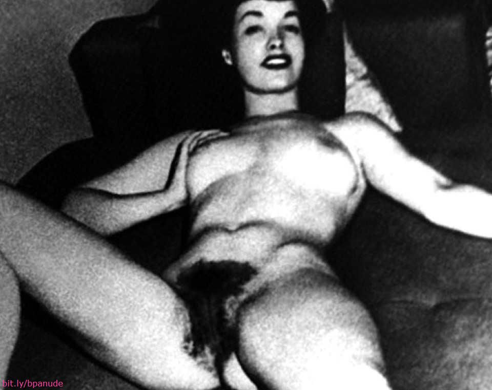 Bettie Page Nude Pussy 27