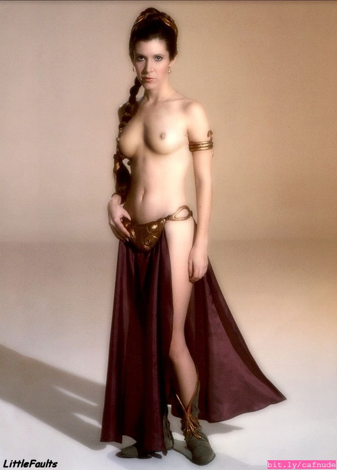 Nude as carrie fisher princess leia