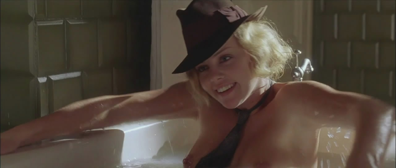 Charlize theron naked movie clips