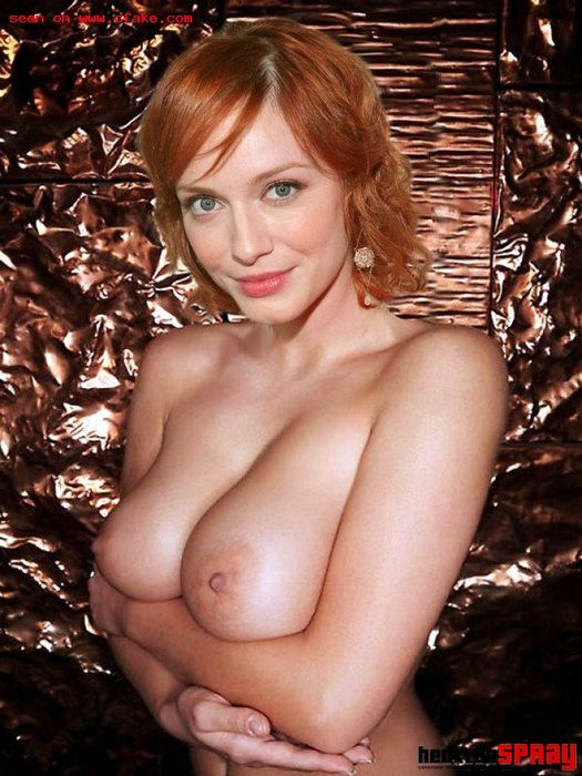 Fake Nude Christina Hendricks
