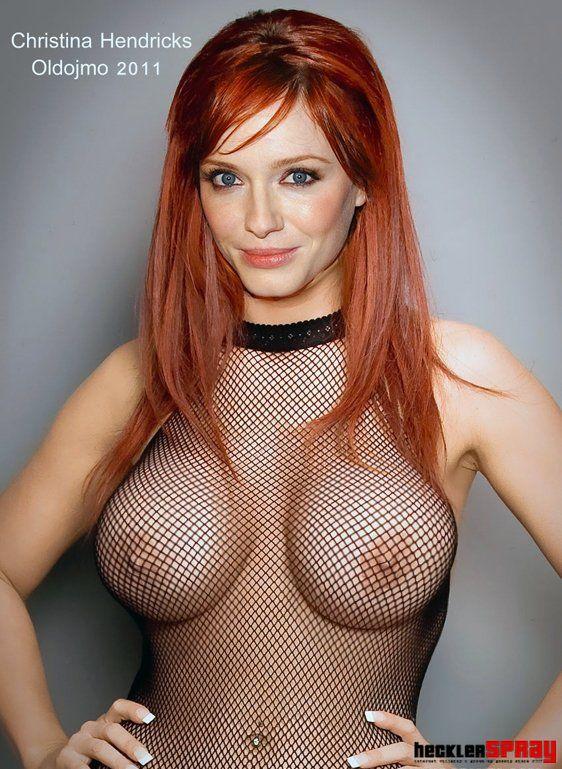 Christina hendricks naked