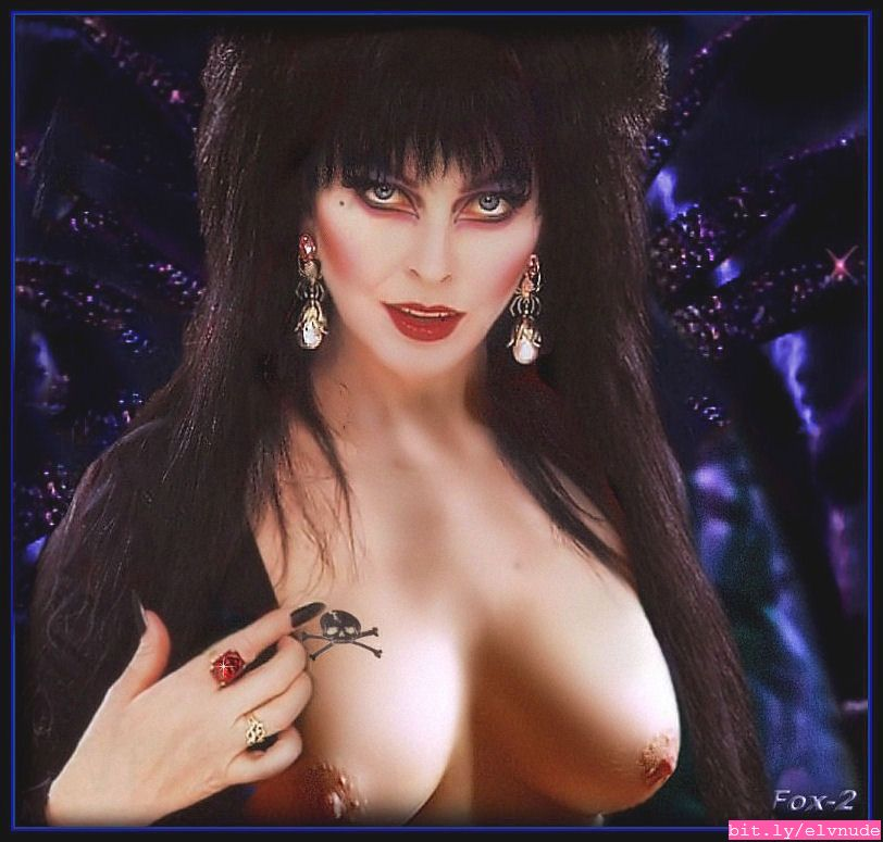 Elvira topless