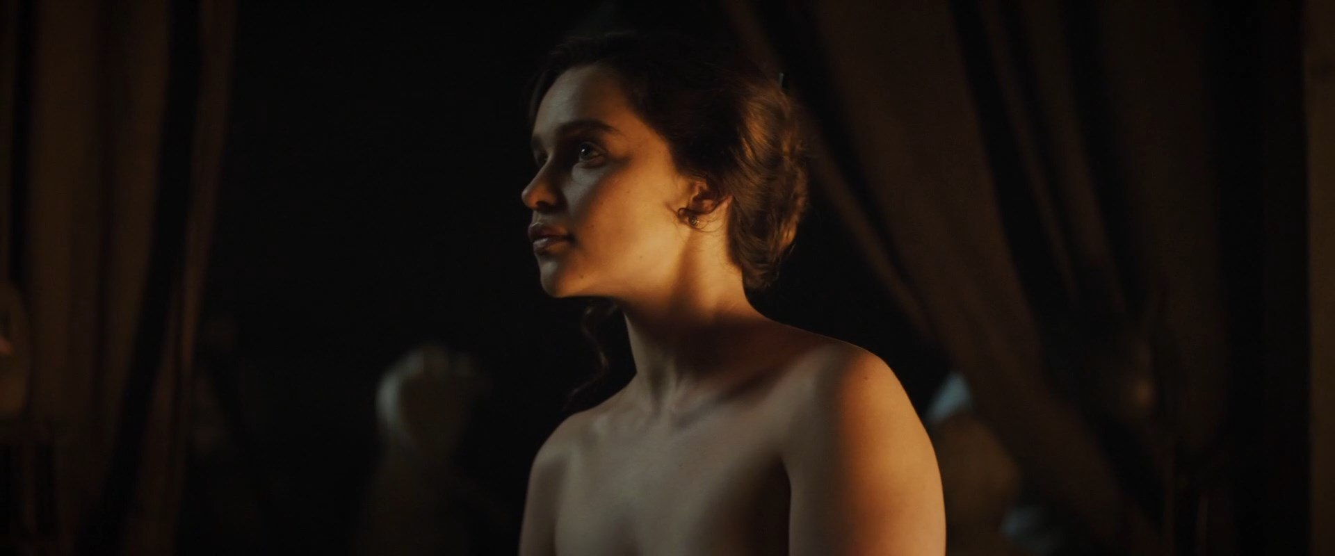 Emilia clarke nude voice from the stone 2017 7