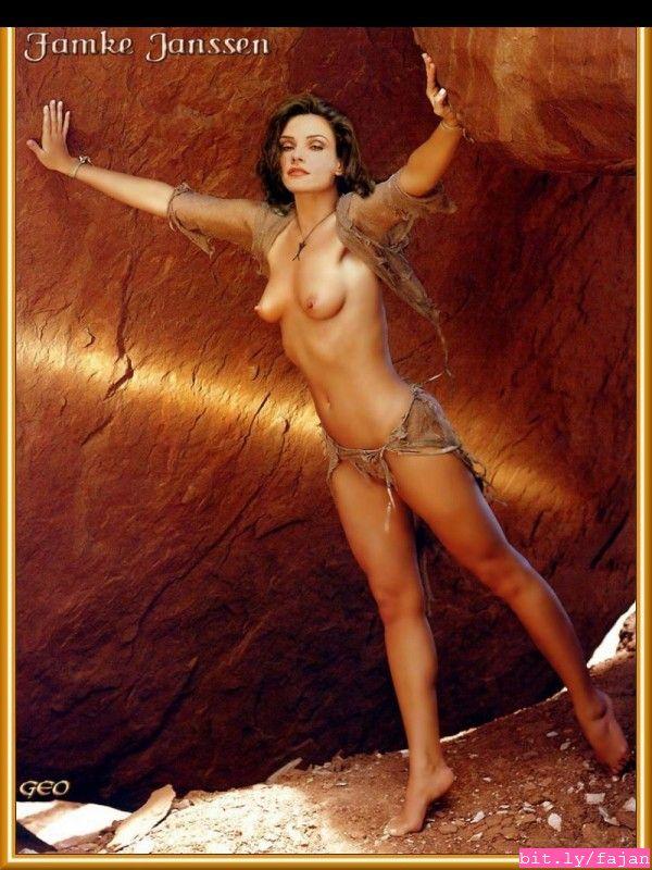 Share Famke jannsen nude that
