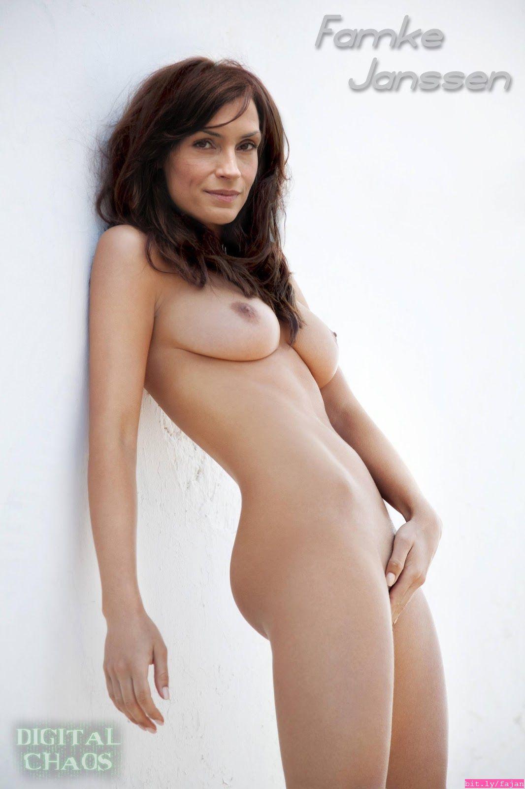 Janssen topless famke Famke Janssen,