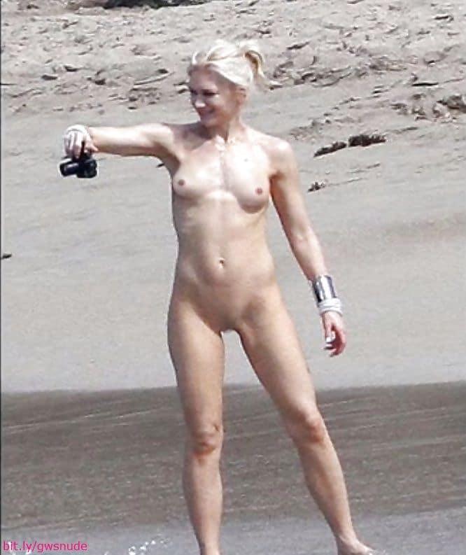 gwen stefani nude Topless