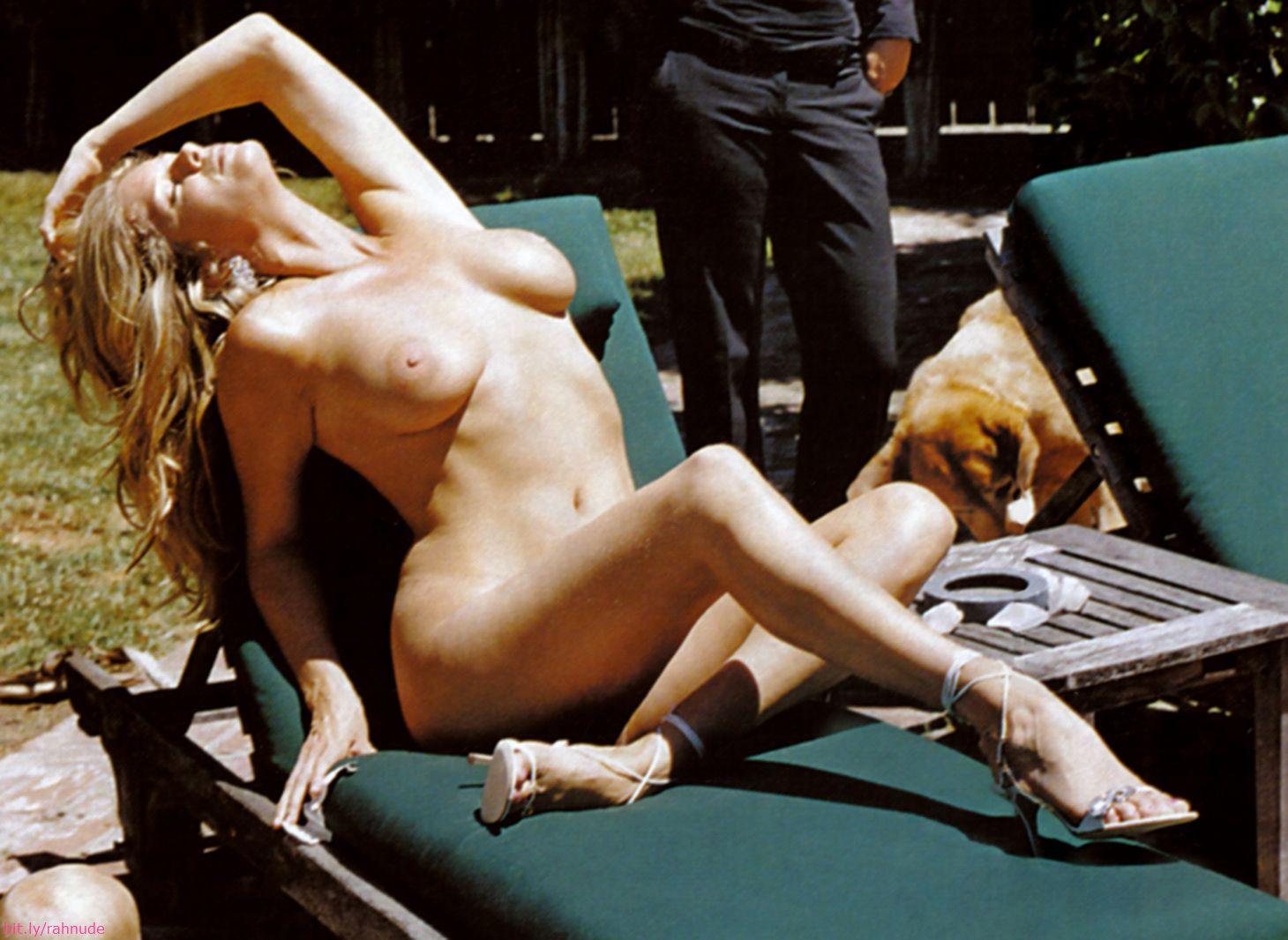 rachel hunter nude on playboy