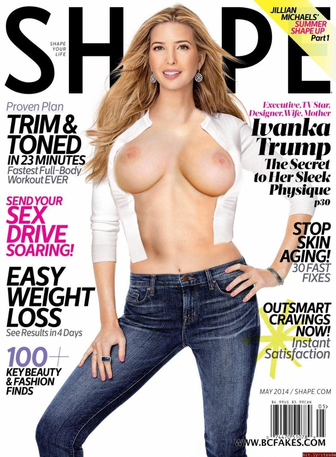 Ivanka trump fake nude