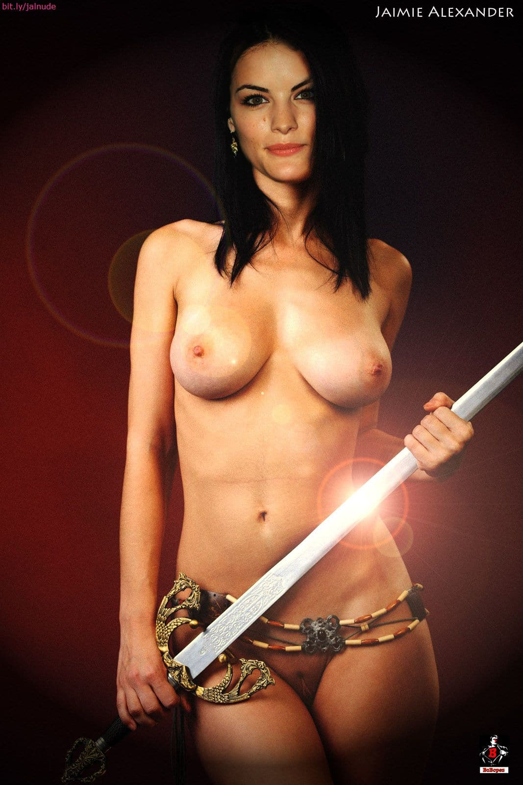 Nude pictures of jaimie alexander not agree