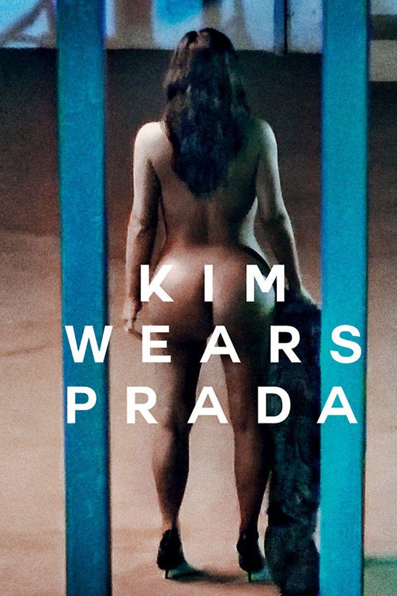 Kardashian magazine kim naked