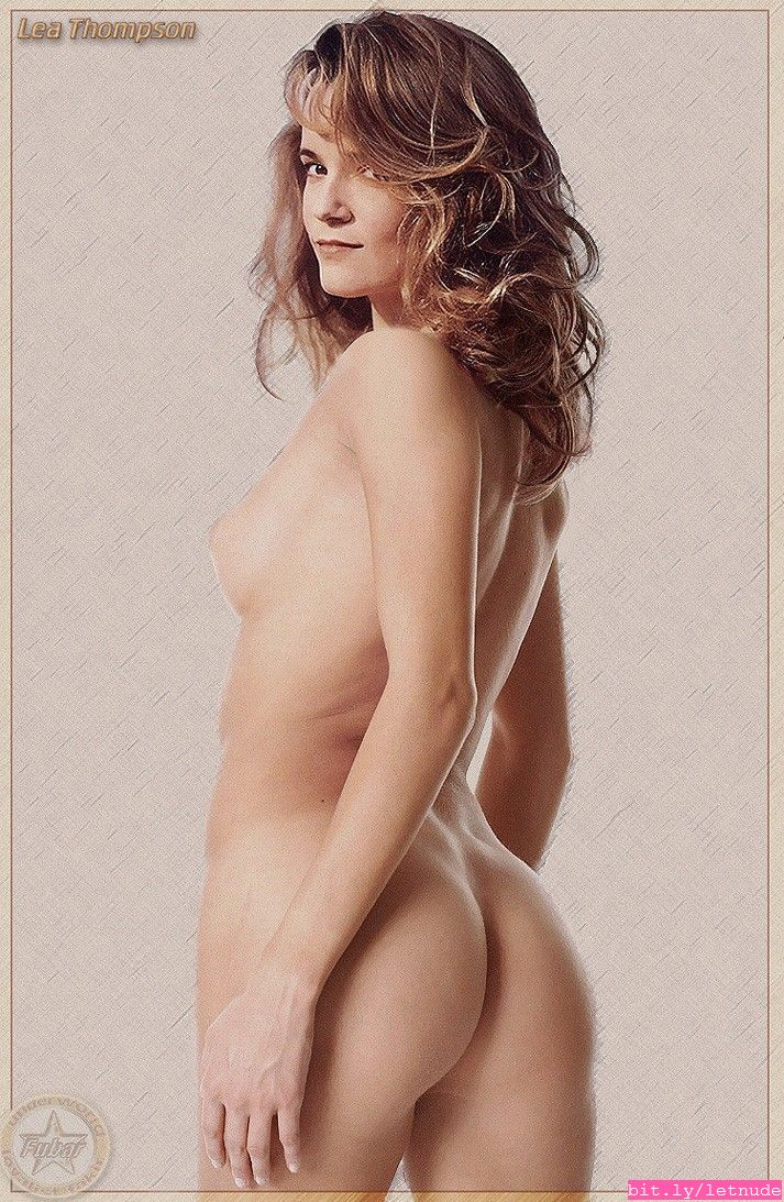 naked lea thompson