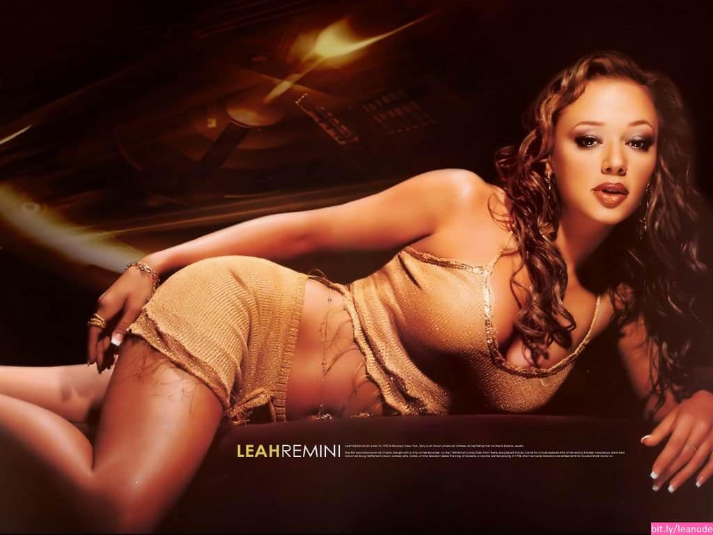 real naked pictures of leah remini