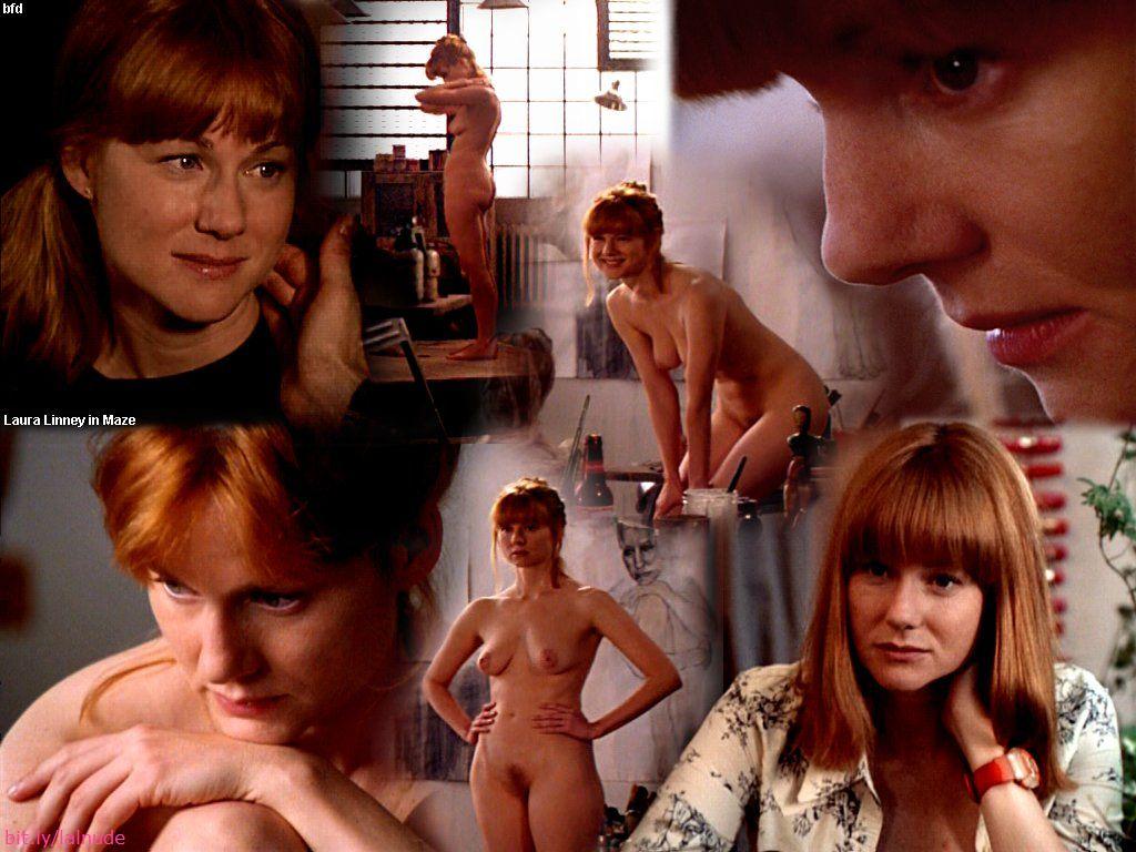 Laura linney naked