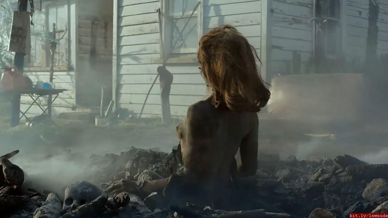 Lucy lawless ash vs evil dead nude