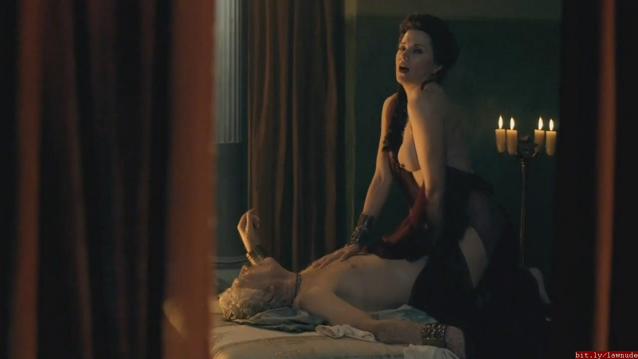 Spartacus lucy lawless sex scene
