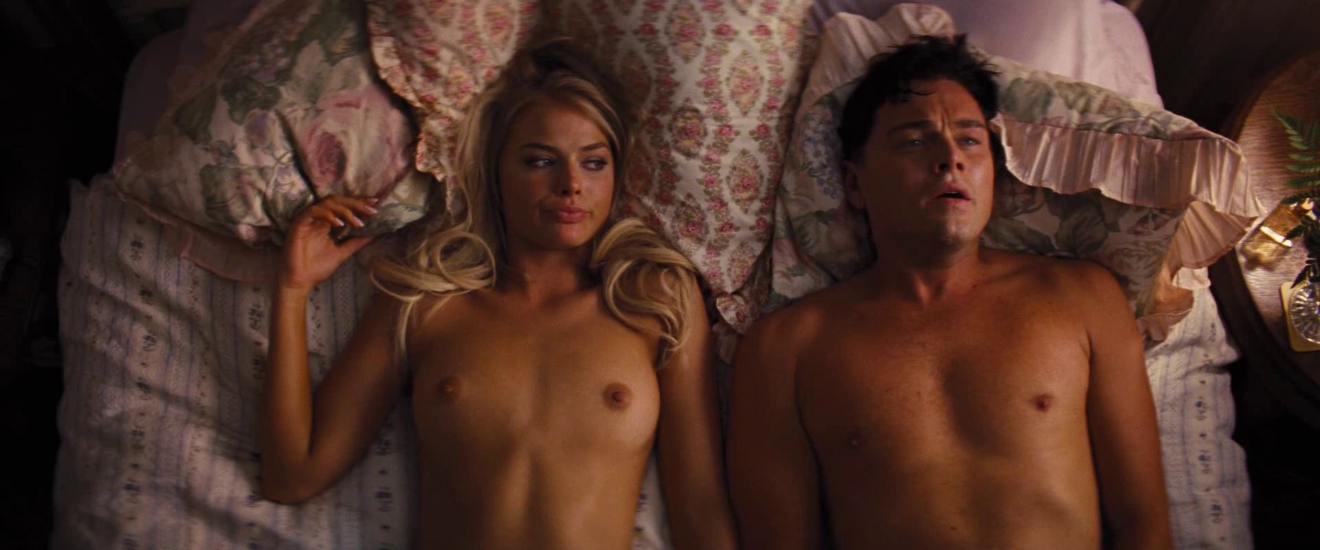 margot robbie wolf of wall street nude