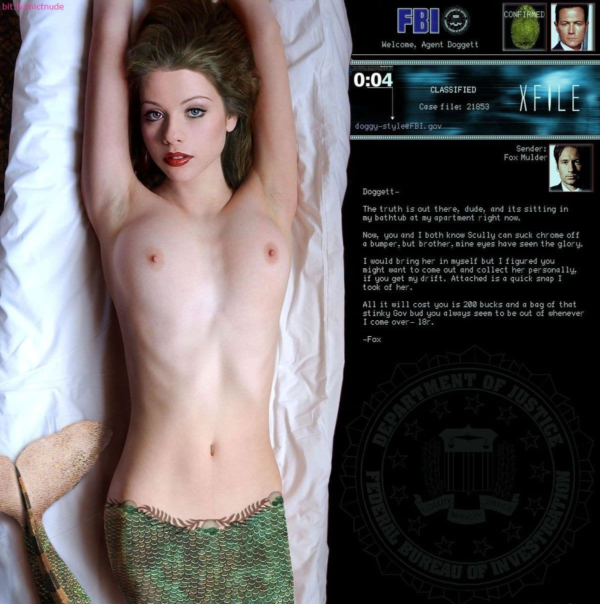 Has michelle trachtenberg nude suggest