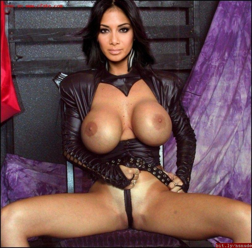 Nicole sherzinger nude pics that interfere