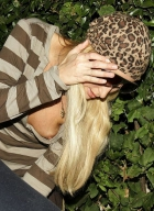 Paris Hilton Flashing Her Breast (USA ONLY)