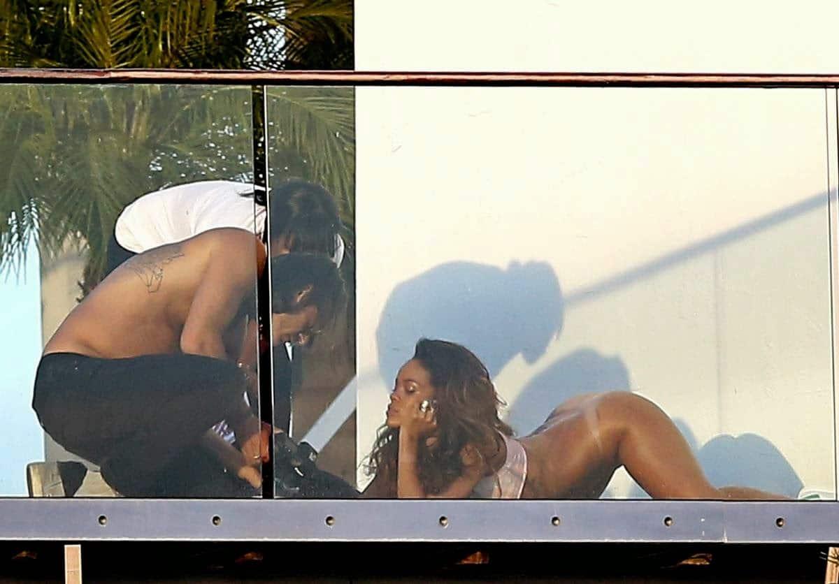 Good words Rihanna gets naked