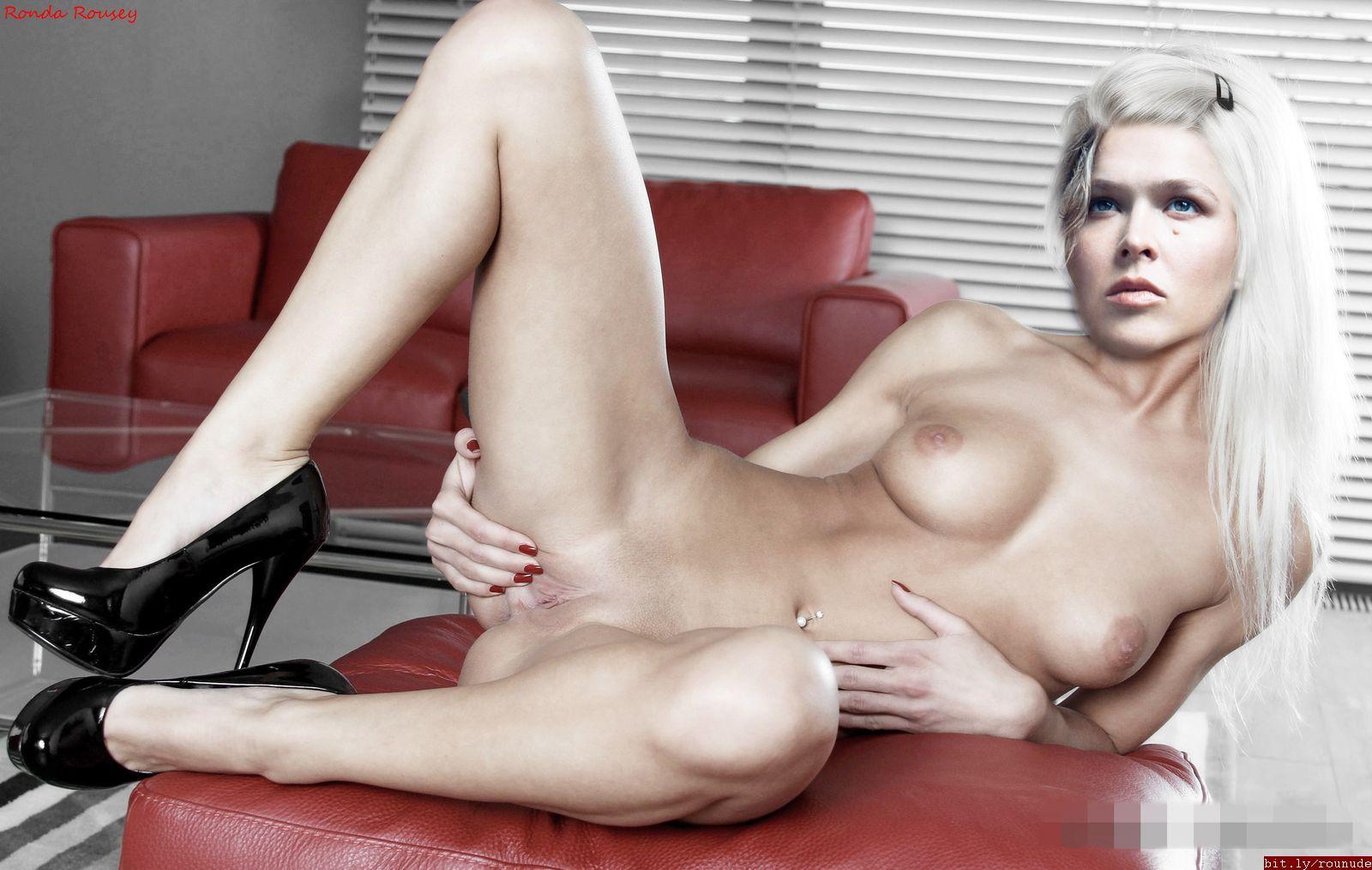 Naked ronda pussy porn