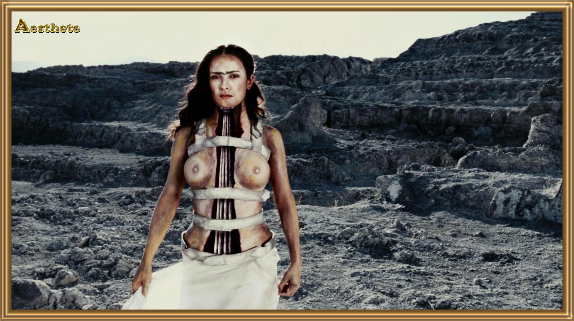 Salma hayek nude in frida