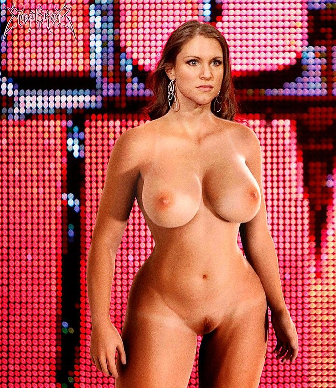 Wwe stephanie mcmahon naked boobs in office