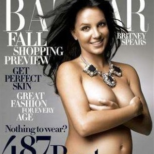 Britney Spears Harpers Bazaar Naked That's it, we quit.