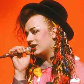 Boy George Community Service New York media strop