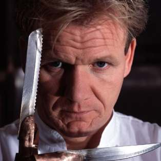 Gordon Ramsay Gets Voted Scariest Celebrity