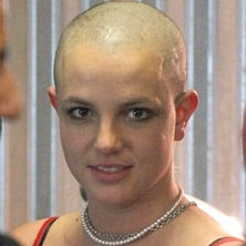 Famous+Ugly+Bald+Men Bald Britney Spears Hair Shaved Head eBay