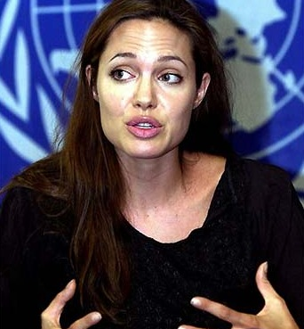 Good old Angelina Jolie – most people