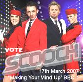 Scooch Eurovision Making Your Mind Up Flying The Flag