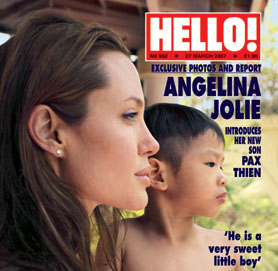 Angelina Jolie Pax Thien name Change Jolie-Pitt Adopted